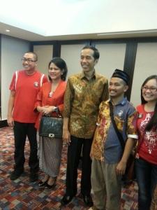 Jokowi dan Kawal Pemilu 2