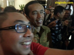 Selfie dengan Jokowi 2