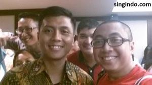 (dari kiri) Ruly Achdiat, Paspampres, Thorgio, Singindo