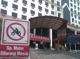 Sepeda Motor Dilarang Masuk