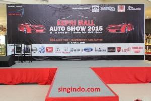 Kepri Mall Auto Show 2015