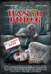 Amel Alvi bermain di film Hantu Budeg tahun 2012