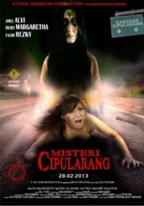 Amel Alvi bermain di film Misteri Cipularang tahun 2013