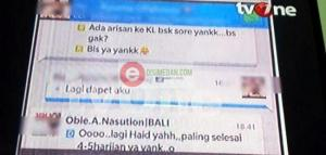 Kemungkinan percakapan antara Obie A Nasution dengan Hesty Klepek-Klepek