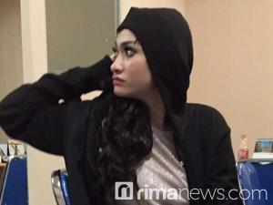 Amel Alvi di Polres Jakarta Selatan