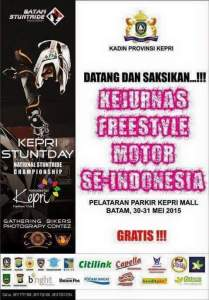 Kejurnas Freestyle Motor Se-Indonesia