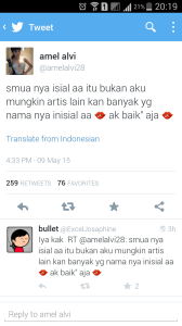 Twitter Amel Alvi