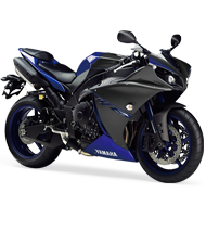 Yamaha YZF-R1, JKT 335 jt, BTM 250 jt