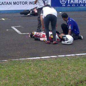 M. Fadli Supersports 600cc Asia Road Racing Championship (ARRC) Seri 2 Singindo