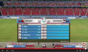 Tim Nasional Indonesia Dibantai Empat Haji