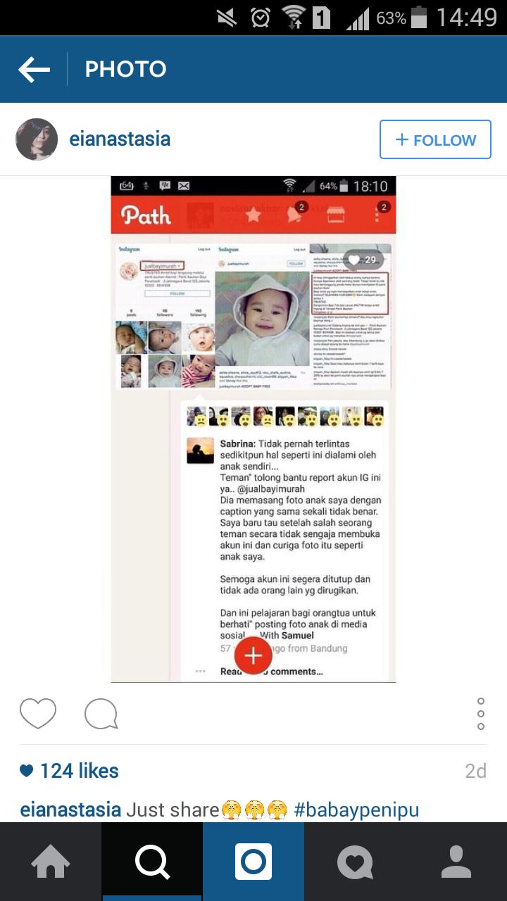 Account Instagram @jualbayimurah Harus Segera Ditindak ...