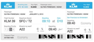 Boarding Pass Singindo