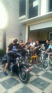 Moge Membalas Kini Giliran Sepeda yang Dihadang