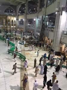 Insiden Crane Jatuh di Masjidil Haram 1