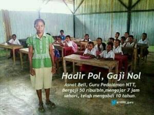 Jeritan Hati Seorang Guru Honorer 2