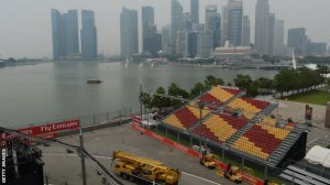 Singapore Grand Prix Haze concerns before F1 night race
