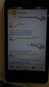 SMS dari Batam Fast