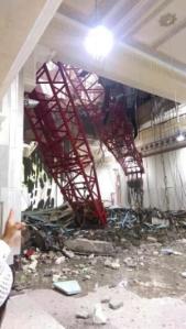 Insiden Crane Jatuh di Masjidil Haram