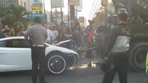 Kecelakaan Lamborghini vs Motor di Kelapa Gading, Endah Suprapti Terluka