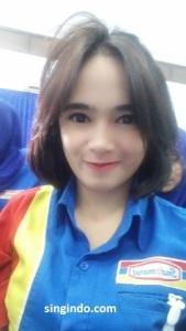 Setelah Heboh Kasir Indomaret Cantik Siti Rohmah Kini Muncul Syarifah Zahra 05