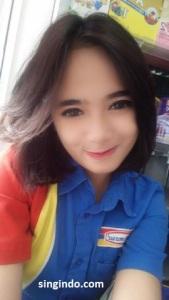 Setelah Heboh Kasir Indomaret Cantik Siti Rohmah Kini Muncul Syarifah Zahra 09