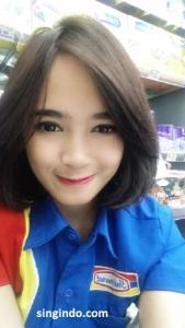 Setelah Heboh Kasir Indomaret Cantik Siti Rohmah Kini Muncul Syarifah Zahra 10