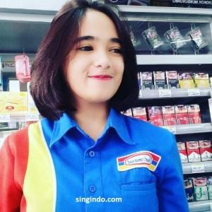 Setelah Heboh Kasir Indomaret Cantik Siti Rohmah Kini Muncul Syarifah Zahra 13