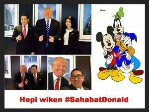 Gara-gara Selfie dengan Setya Novanto dan Fadli Zon, Akhirnya Donald Trump Kalah Telak