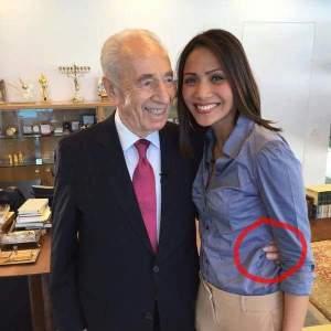 Antara Andini Effendi dan Shimon Peres… Antara Metro TV dan Israel…