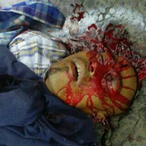 Penembakan Kang Japra di Jalan Mayor Oking Jaya Atmaja Cibinong