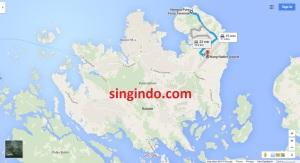 Jarak dari Bandara Hang Nadim ke 5 Ferry Terminal di Batam 2