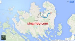 Jarak dari Bandara Hang Nadim ke 5 Ferry Terminal di Batam 3