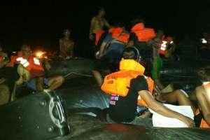 Tabrak Benda Terapung Ferry dari Nongsa Pura Ferry Terminal Menuju Tanah Merah Ferry Terminal Tenggelam 3