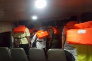 Tabrak Benda Terapung Ferry dari Nongsa Pura Ferry Terminal Menuju Tanah Merah Ferry Terminal Tenggelam 6