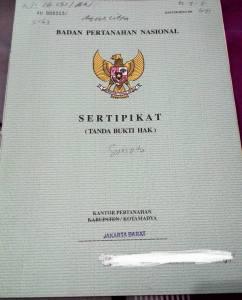 Urus Sertifikat di DKI Jakarta Hanya Rp 50 Ribu, Slogan Kalau Bisa Dipersulit Kenapa Dipermudah Sudah Tidak Berlaku 1