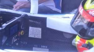 Kesholehan Rio Haryanto Terlihat dari Kokpit Mobil Balapnya