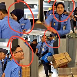 Hati-hati Barang Anda Dibongkar di Terminal 2F Bandara Soekarno Hatta