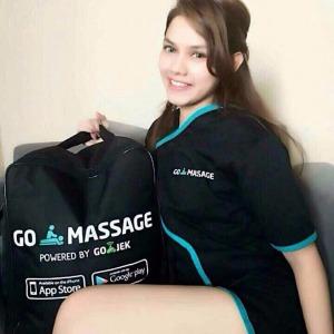 Asyik Sekarang Sudah Ada Go-Massage... Bisa Pesan Terapis Cantik ke Rumah