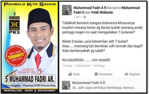 Kader PKS ini Tuduh Anak Jokowi Hamil di Luar Nikah 2