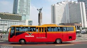 Layanan 24 Jam Transjakarta di Malam Pergantian Tahun