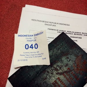 Pengalaman Perpanjang Passport di Singapore