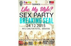 Pesta Seks di Hotel Mewah di Jakarta Tanggal 24 Desember 2015 Bikin Hebohkan Dunia Maya