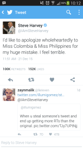 Pantas Saja Steve Harvey Salah Sebut Nama Pemenang Miss Universe 2015... Desain Kartunya Saja Seperti Ini