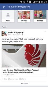Curhat Kartini Kongsyahyu dan Tanggapan dari Lion Air