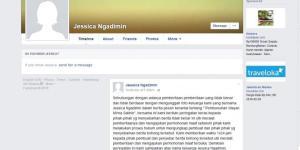 """""""Jessica Ngadimin"""" Angkat Bicara Via Facebook Terkait Kematian Mirna"""