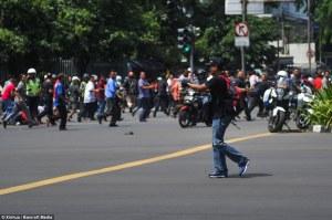 Ini Dia Foto Foto Persiapan Terduga Teroris Sebelum Menembaki Polisi!