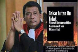 Argumen Hakim Bakar Hutan Tidak Merusak Lingkungan Dikecam Netizen 1