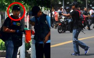 Fotonya Tersebar, Ini Tampang Pelaku Teror Bom Thamrin Tenteng Pistol 2