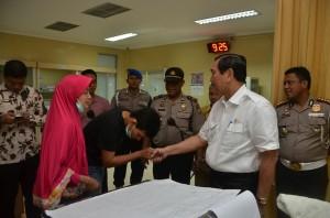 Luhut Anak Anggota Polisi yang Dirawat di Rumah Sakit Ingin Menjadi Polisi Seperti Ayahnya 01