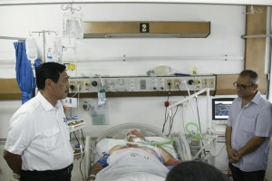 Luhut Anak Anggota Polisi yang Dirawat di Rumah Sakit Ingin Menjadi Polisi Seperti Ayahnya 02